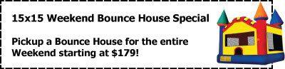 15x15 coupon michigan party rentals inflatables novi farmington hills bloomfield hills west bloomfield canton