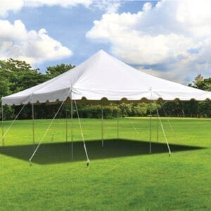 20'x20' tent rental michigan party