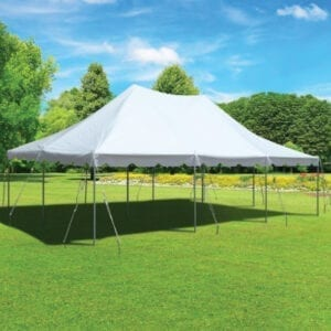 20'x30' tent rental michigan party rentals