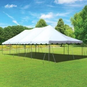 20'x40' tent rental michigan party rentals