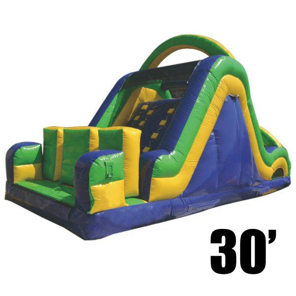 radical 30 inflatable rock climb slide party rentals Michigan
