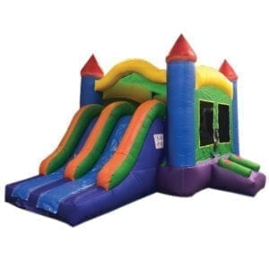 3n1 dual lane multi bounce slide combo inflatable party rentals Michigan