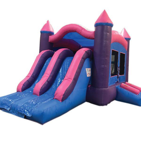 3n1 dual lane princess bounce slide combo inflatable party rentals Michigan
