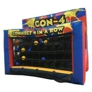4 in a row inflatable party rental michigan