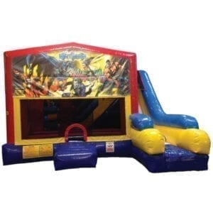 5n1 xl batman bounce slide combo inflatable party rentals michigan