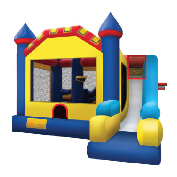5n1 xl blue inflatable combo party rentals michigan