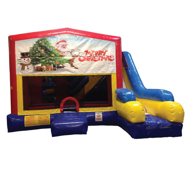 5n1 xl happy holidays bounce slide combo inflatable party rentals Michigan