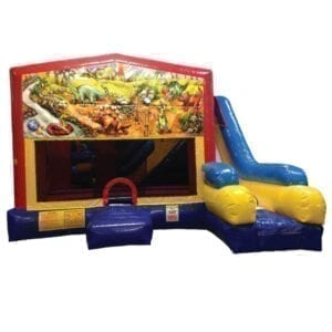 5n1 xl dinosaurs bounce slide combos inflatable party rentals michigan