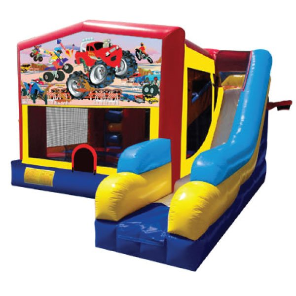 5n1 xl motorsports inflatable bounce slide combo party rentals Michigan