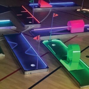 LED Mini Golf Putt Putt Party Rentals Michigan