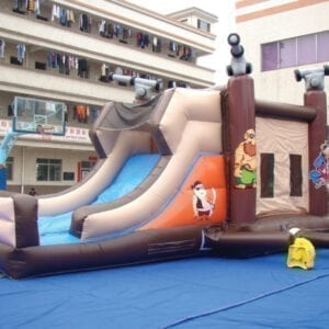 ahoy matey bounce slide combo inflatable party rentals Michigan