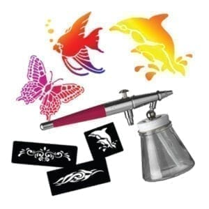 airbrush tattoo temporary tattoo kids entertainment party rentals michigan