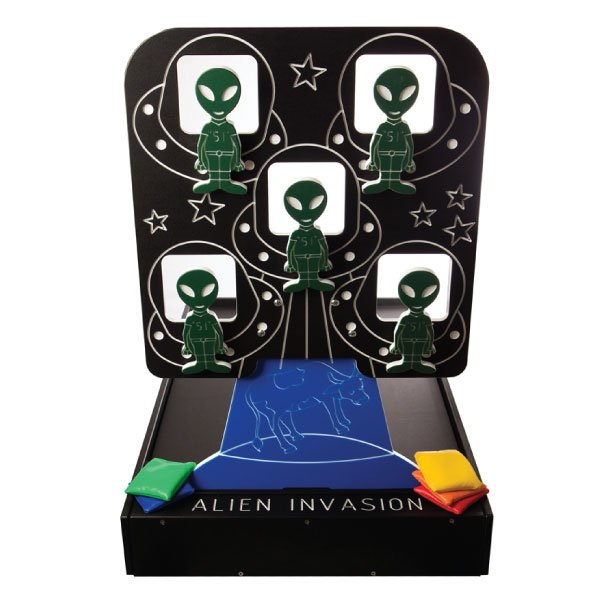 alien invasion carnival game rentals michigan