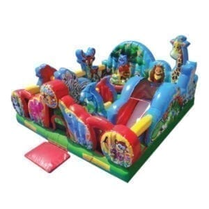 Animal Kingdom Bounce Slide Combo Party Rentals Michigan