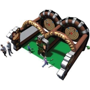 axe throwing inflatable party rentals michigan