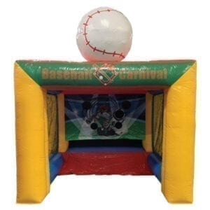 baseball carnival inflatable party rental michigan