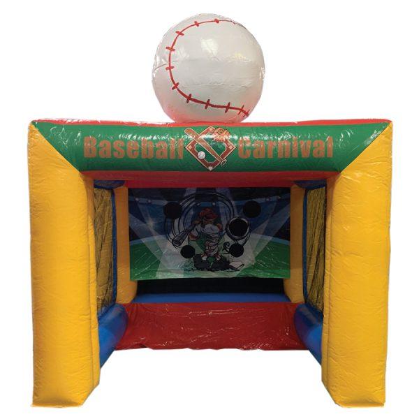 baseball carnival inflatable party rental michigan
