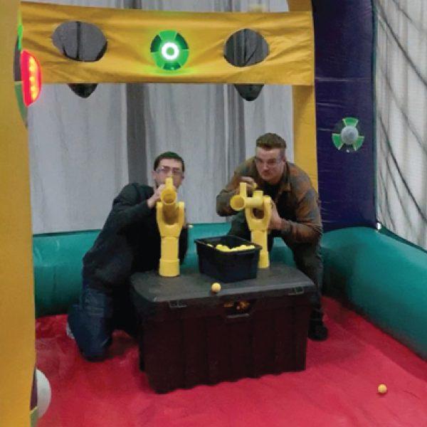 Battle Light Blaster Inflatable Party Rentals Michigan