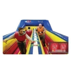Battle Light Bungee Run inflatable Party Rentals Michigan 2