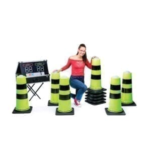 Battle Light Cones inflatable Party Rentals Michigan 2