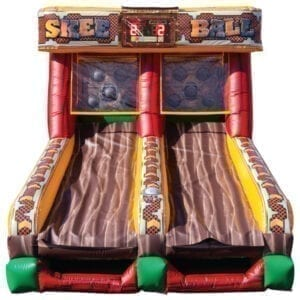 battle light skee ball inflatable party rentals Michigan