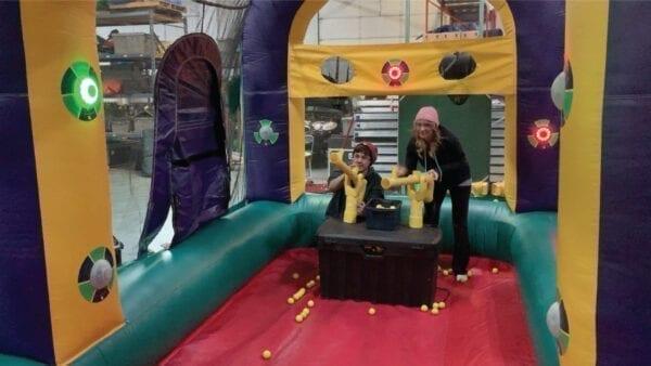 Battle Light Blaster Inflatable Party Rentals Michigan 2