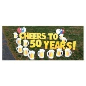 beer mugs yard greetings yard cards lawn signs happy birthday party rentals michigan