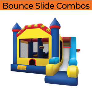 bounce slide combo e home page inflatable party rentals michigan 200