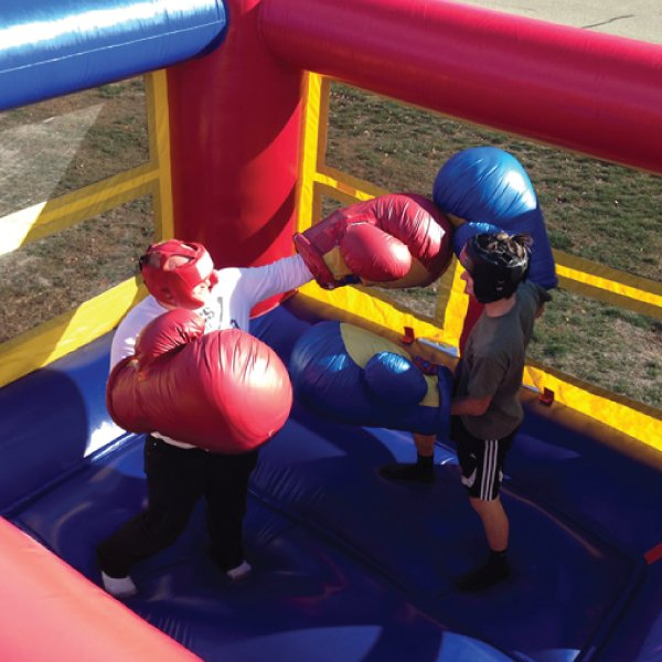 inflatable bouncy boxing rental party rentals michigan