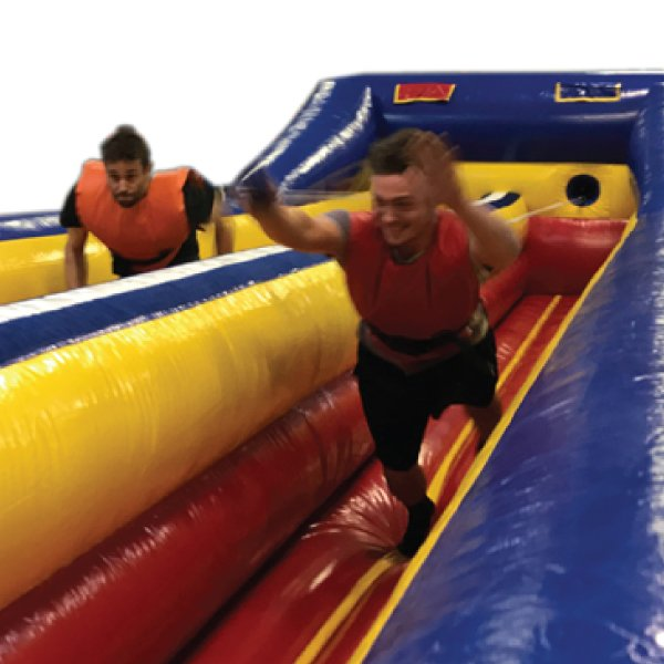 inflatable bungee run rental party rentals michigan