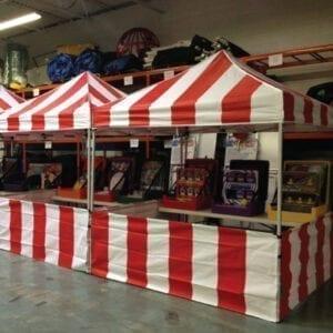 Carnival Game Tent Rentals Michigan