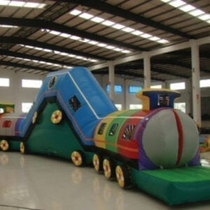 Choo Choo Train Inflatable Combo Party Rentals Michigan