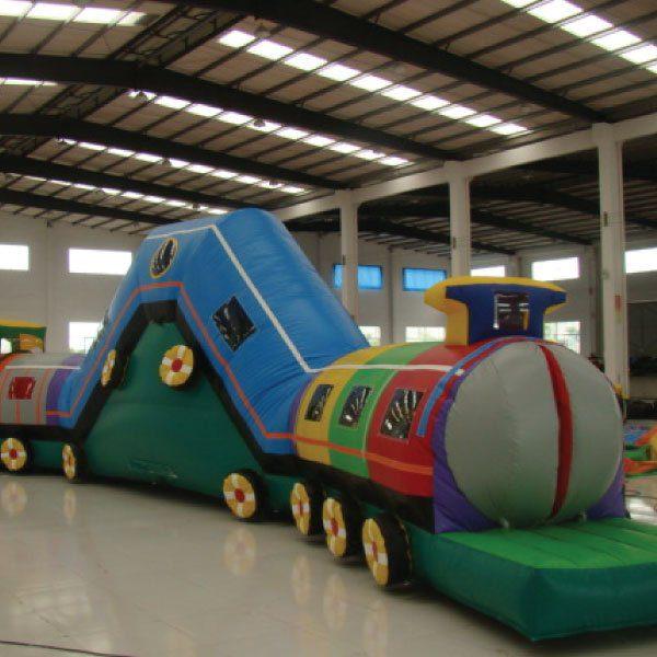 Choo Choo Train Inflatable Combo Party Rentals Michigan