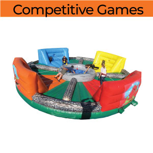 competitive games inflatable party rentals Michigan 200