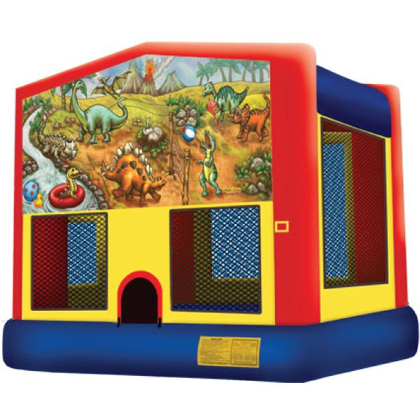 Dinosaurs inflatable bounce house party rentals michigan