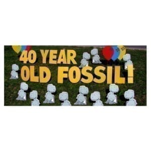 dinosaurs yard greetings yard cards lawn signs happy birthday party rentals michigan