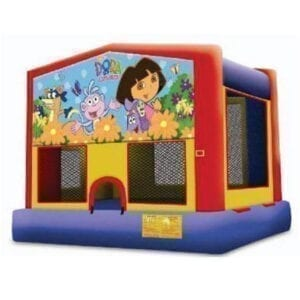 Dora the Explorer inflatable party rentals michigan