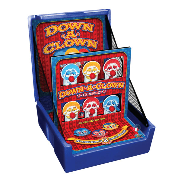 down a clown carnival game party rental michigan