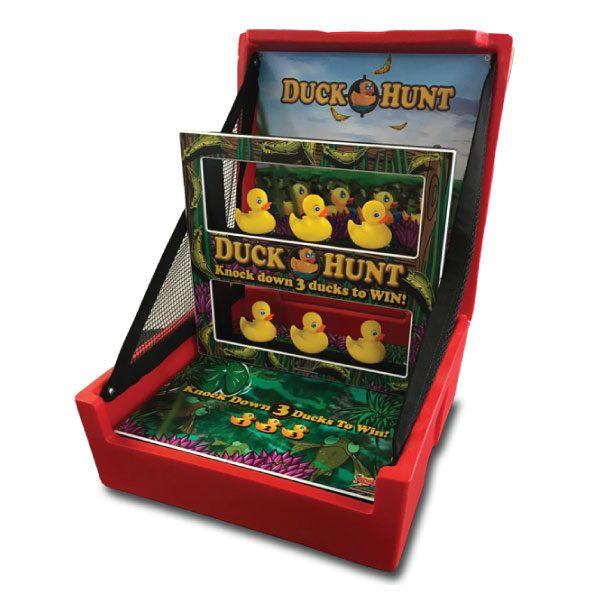 duck hunt carnival game party rental michigan