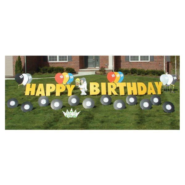 elvis yard greetings yard cards lawn signs happy birthday party rentals michigan