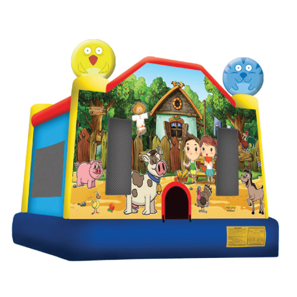 farm inflatable bounce house party rentals michigan