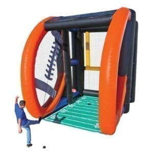 inflatable field goal challenge rental party michigan