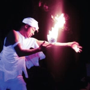 fire artist twirl eating flame kids entertainment michigan