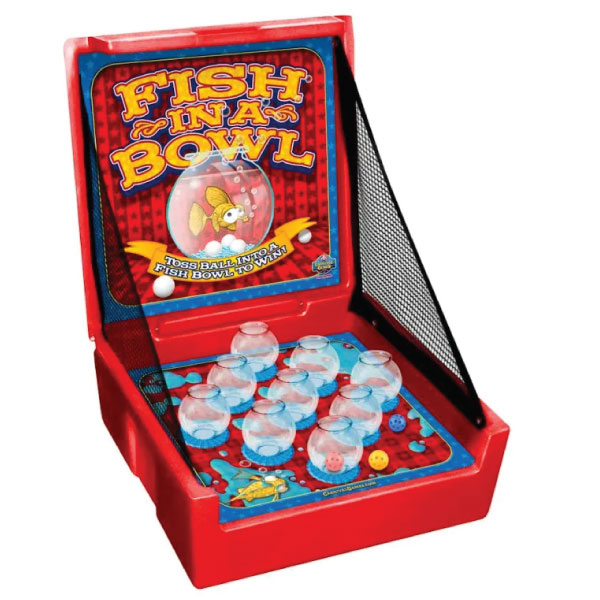 fish in a bowl carnival game party rentals michigan