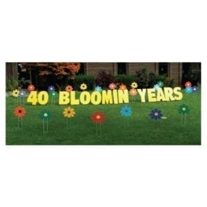 fowlers yard greetings yard cards lawn signs happy birthday party rentals michigan