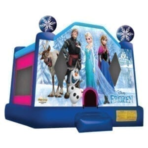 disney frozen inflatable bounce house party rentals michigan