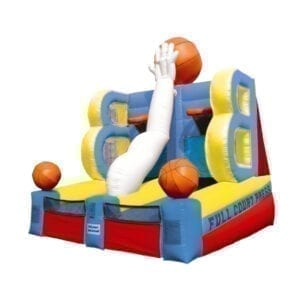full court press basketball inflatable party rentals Michigan