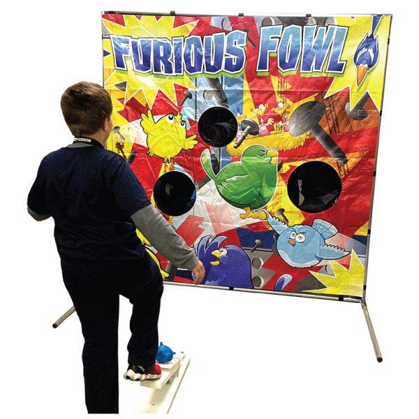 furious fowl carnival game party rentals Michigan