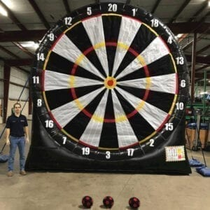 giant inflatable darts party rentals michigan