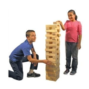 giant jenga game party rentals michigan